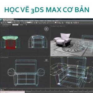 Học vẽ 3Dmax cơ bản – 3 điều quan trọng cần phải lưu ý