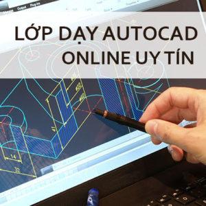 Lớp dạy Autocad Online uy tín ở Hà Nội và TpHCM