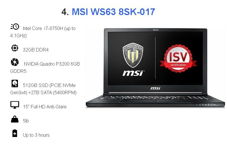 laptop dùng cho autocad