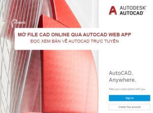 Vẽ Autocad Online Mở Đọc File Xem Trực Tuyến Bằng Công Cụ Gì