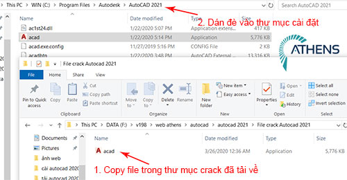 Copy file crack autocad 2021