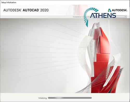 hướng dẫn cài đặt autocad 2020