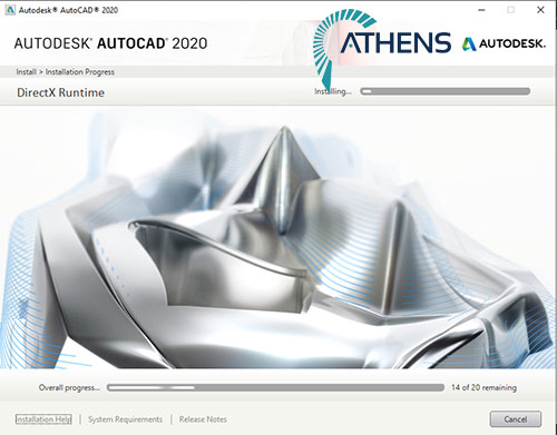 cách cài đặt autocad 2020