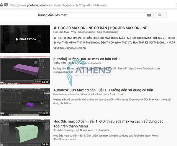Tài liệu học 3d max căn bản  qua video