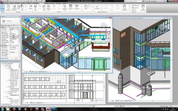 phần mềm thiết kế nội thất autodesk revit