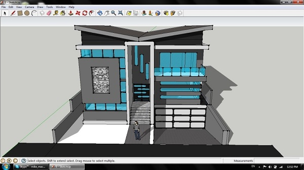 phần mềm thiết kế nội thất sketchup