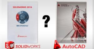 So Sánh Sự Khác Nhau Giữa Phần Mềm Autocad Và Solidworks