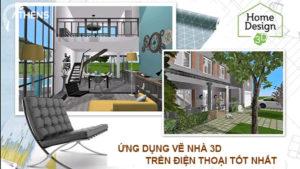 Ứng Dụng Vẽ Nhà 3D Trên Điện Thoại Khá Hay Cho Người Không Chuyên