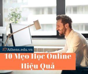 10 mẹo học online hiệu quả