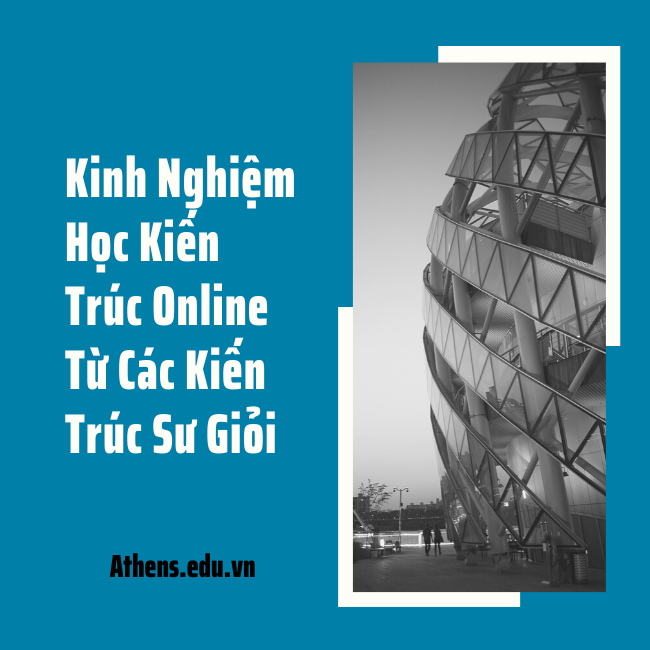học kiến trúc online