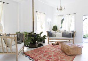 Phong cách nội thất boho phóng khoáng tự do